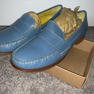 Cole Haan Blue Liafers Size 7.5
